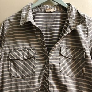 Roxy Button Up